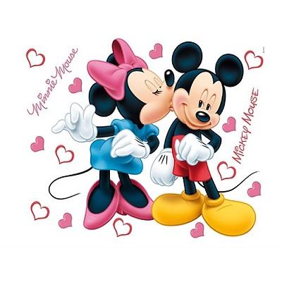 Т0421-ДК882, стикери Disney 65x85 см, 1 ч., Мини и Мики Маус