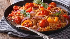 spageti s domatki