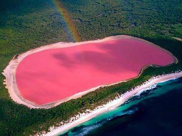 Една от най-големите загадки - розовото езеро Хилиър