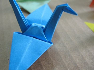 Origami Jerav